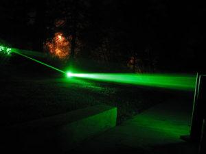 Burning Laser Pointers