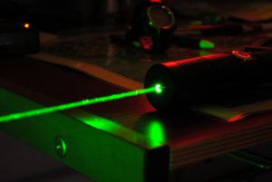 High Power Green Lasers