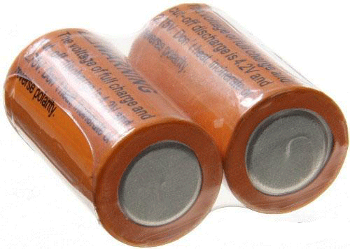 18350 Rechargeable Batteries