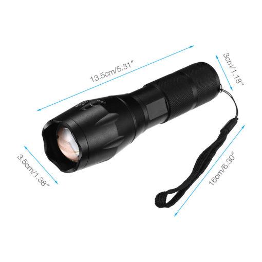 Mini TorchX Flashlight