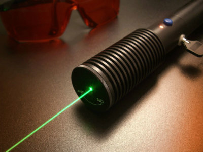 Crossfire Hand Held Green Laser