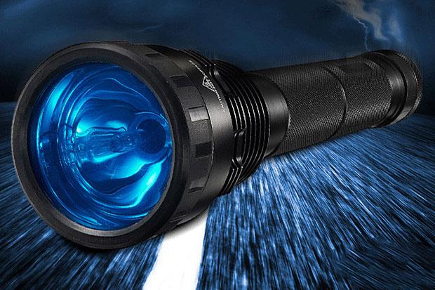 HID Flashlight 35W or 85W - Burning Flashlight