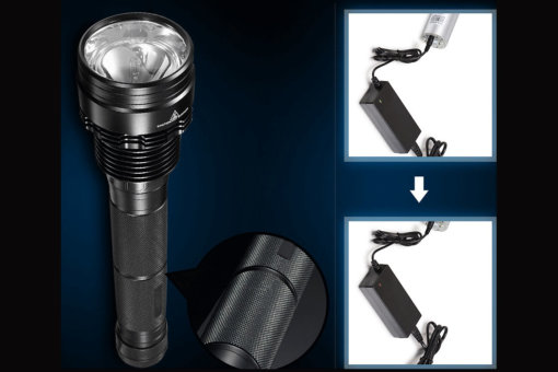 Fusion Xenon High Power Flashlight
