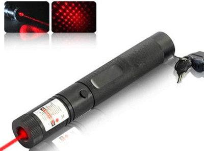 Grooved Red Laser Pointer