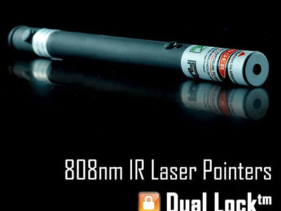 IR Dual Lock 808nm 980nm Laser Pointer