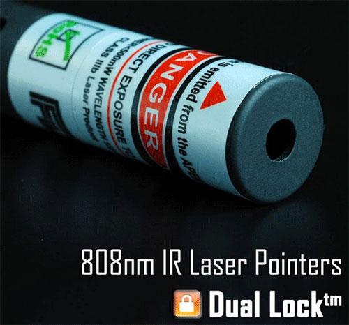 IR Dual Lock 808nm 980nm Laser Pointer