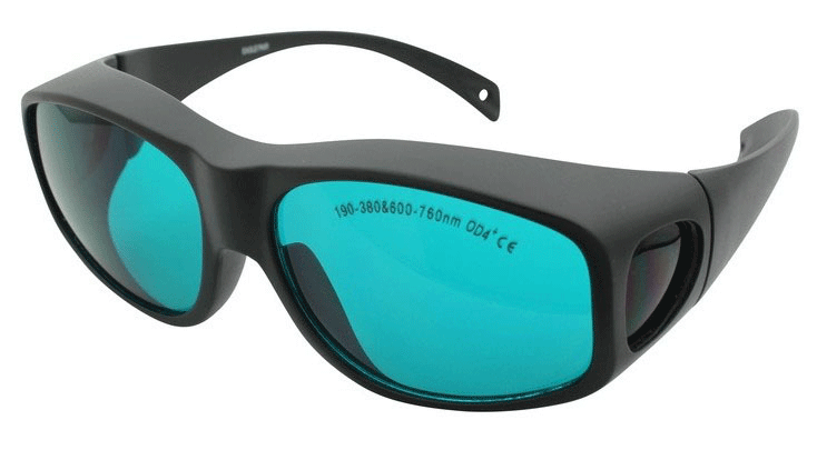 Sport UV/Red Laser Safety Goggles