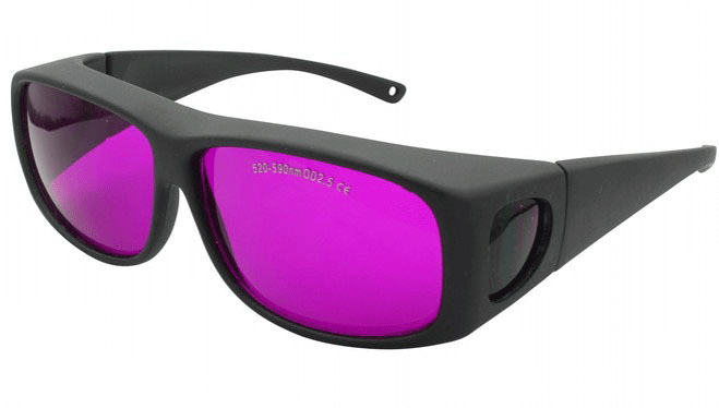 Sport Green Laser Safety Goggles