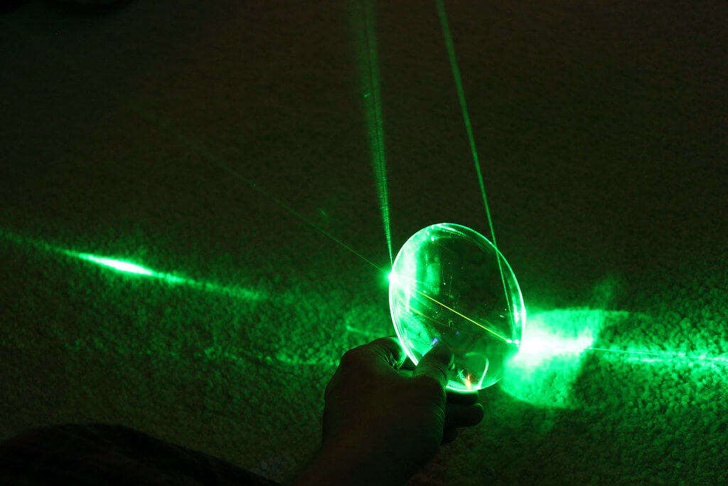 What Qualifies A Laser Pointer As A Burning Laser?