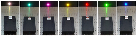 Triple Wavelength Lasers