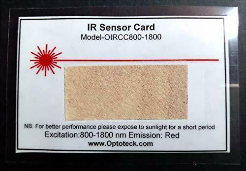 IR Laser Detection Card