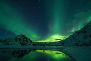 Green Light Wavelengths of the Northern Lights